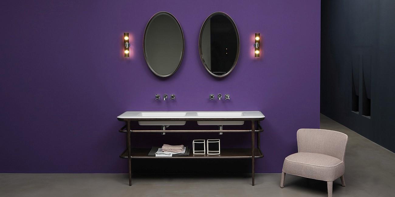 Ensemble lavabo design Ilbagno d'ANTONIO LUPI