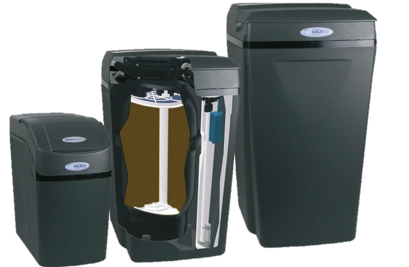 Adoucisseurs d'eau VALECO : HomeGUARD et Proseries 1 et 2