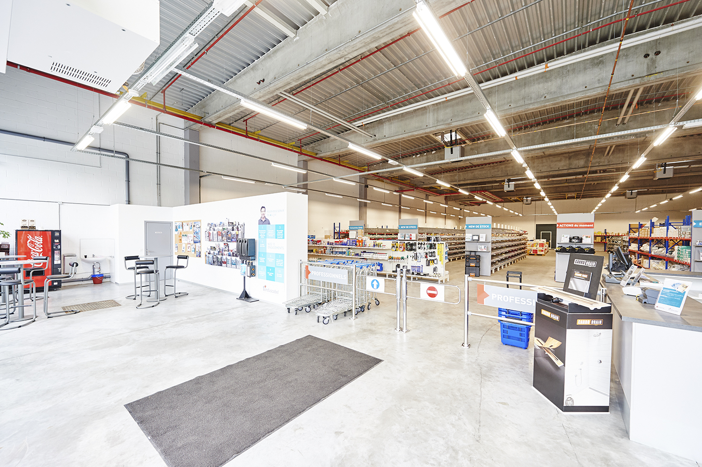 Self-service Induscabel à Anderlecht - Pièces détachées salle de bains, chauffage et cuisine