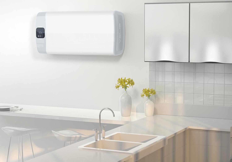 Le chauffe eau lectrique design d 39 ariston induscabel - Chauffe eau marche plus ...