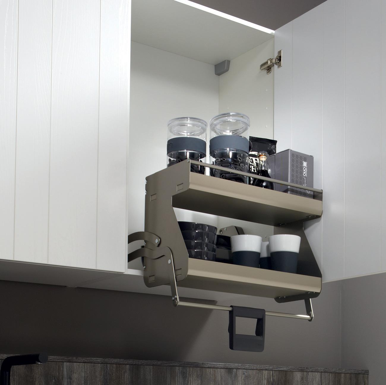 Astuce de rangement pour armoire de cuisine | Induscabel