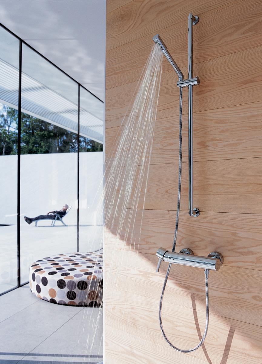 Robinetterie de douche avec mitigeur pour votre salle de bains - GROHE