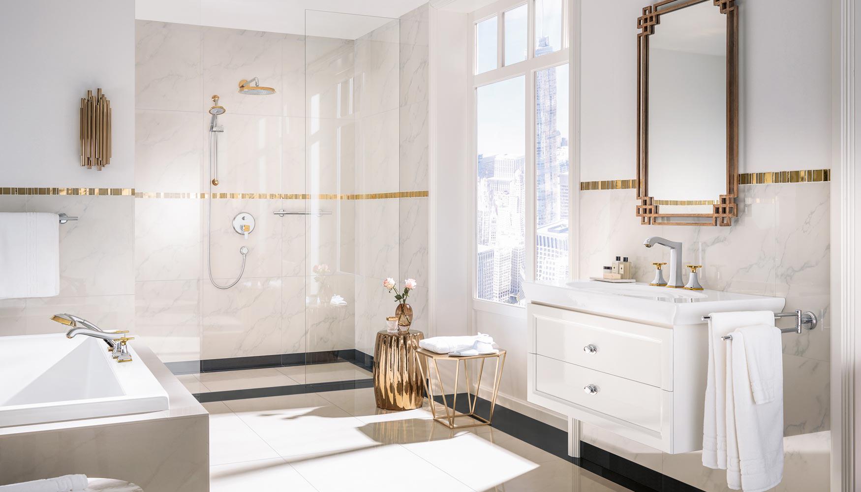 Comment am nager votre salle de bains induscabel salle de bains chauffage et cuisine - Mitigeur design salle de bain ...