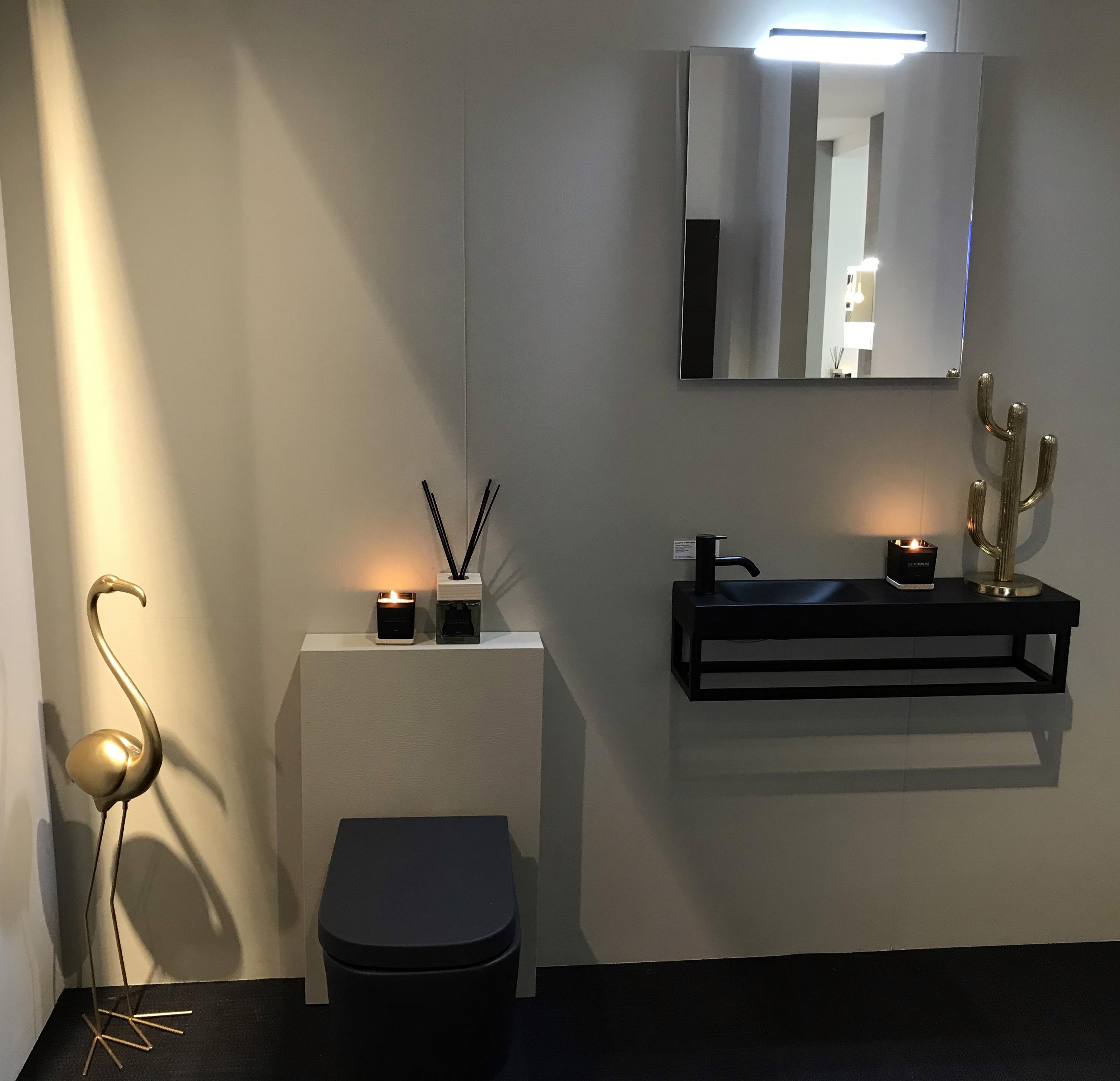 Coup de coeur Batibouw : lave-main et wc Detremmerie