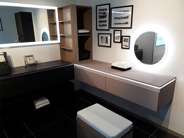 Showroom Loverval - Meuble d'expo salle de bains