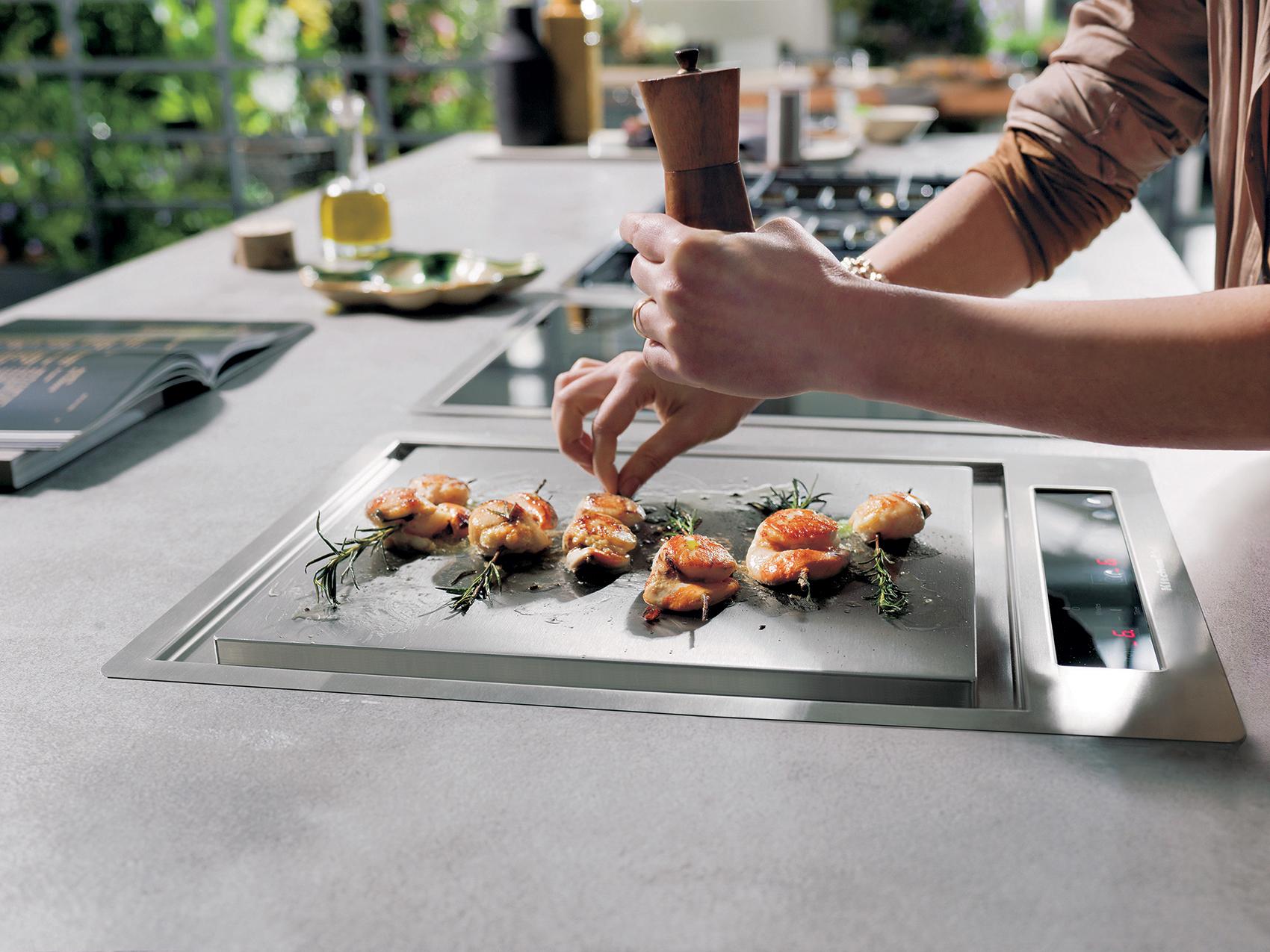 Préparez de succulents plats avec le Teppan Yaki de KITCHENAID