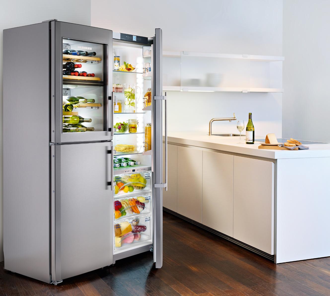 Réfrigérateur et cave à vins LIEBHERR