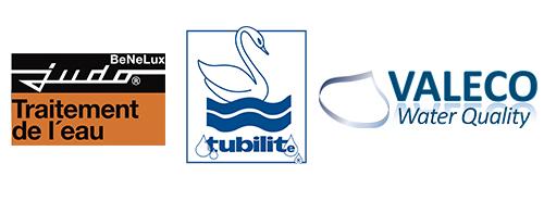 Adoucisseurs d'eau ; Les 3 marques présentes chez Induscabel : Judo - Tubilite - Valeco
