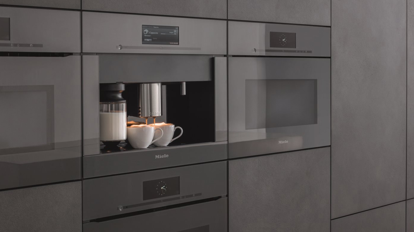 Machine à café, esspresso encastrée de la ligne ArtLine de MIELE