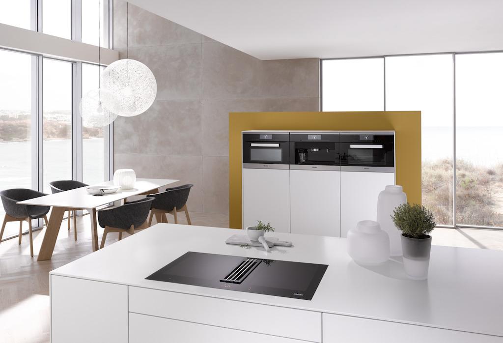 les lignes artline twoinone et smartline de miele induscabel salle de bains chauffage et. Black Bedroom Furniture Sets. Home Design Ideas