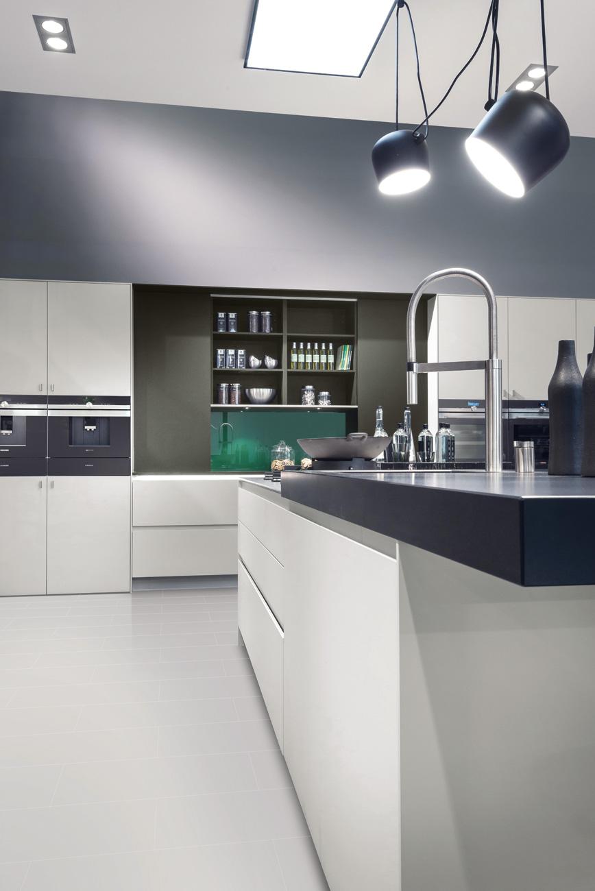 Meuble cuisine sans porte good portes sans poignes mobilier de cuisine pronorm y line for Meuble cuisine sans porte