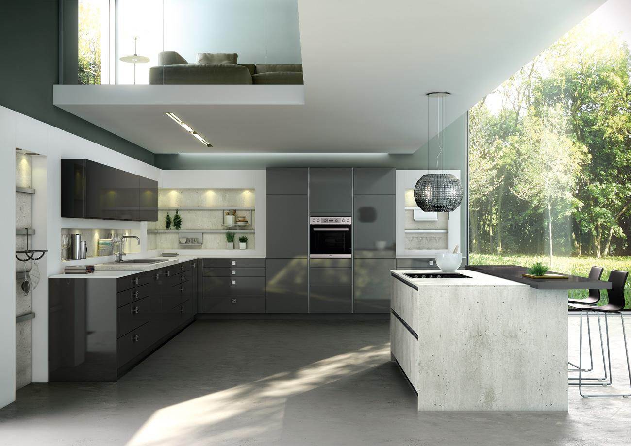 Nos diff rents mod les de meubles de cuisines induscabel for Stormer cuisine