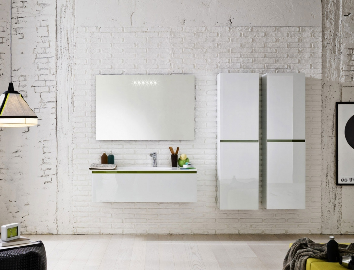 Choisir le blanc pour ses meubles de salle de bains