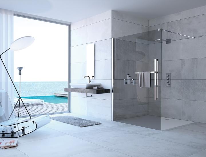Quelle paroi fixe choisir pour ma douche italienne ?