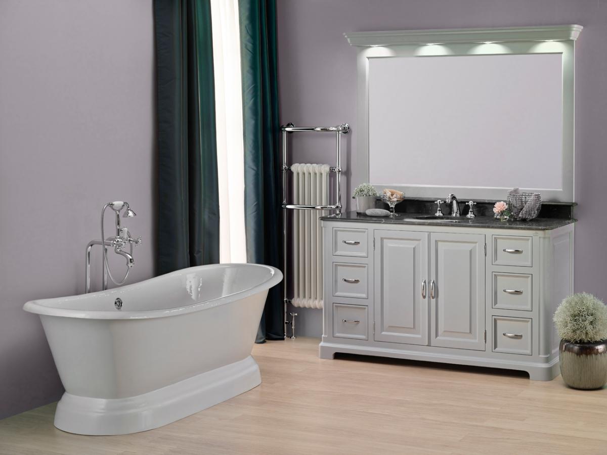 Meubles et bain regent aquaprestige induscabel salle de bains chauffage et cuisine - Meuble salle de bain retro chic ...