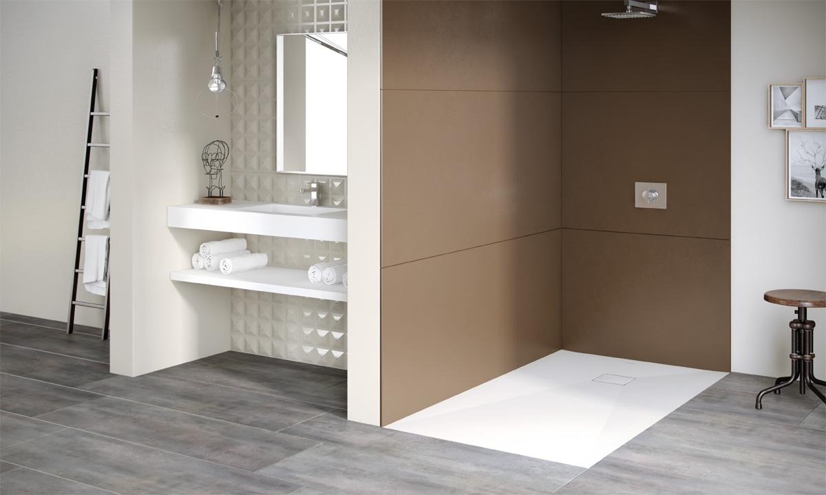 panneaux mureaux de douche aquacento induscabel salle. Black Bedroom Furniture Sets. Home Design Ideas