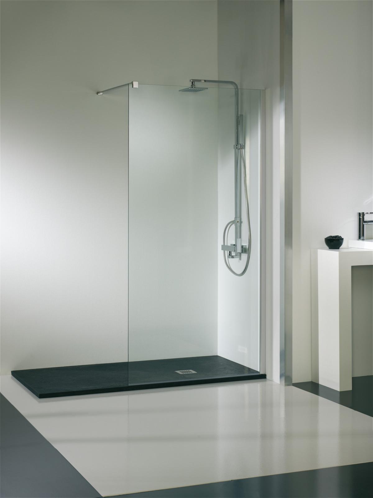 receveur de douche aqua solidstone aquacento induscabel salle de bains chauffage et cuisine. Black Bedroom Furniture Sets. Home Design Ideas