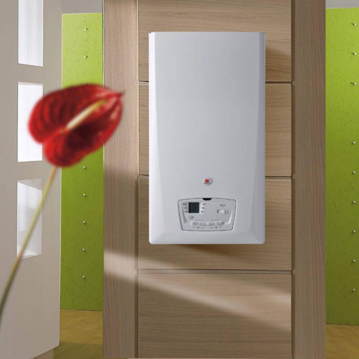 chaudi re au gaz condensation therma condens bulex induscabel salle de bains chauffage. Black Bedroom Furniture Sets. Home Design Ideas