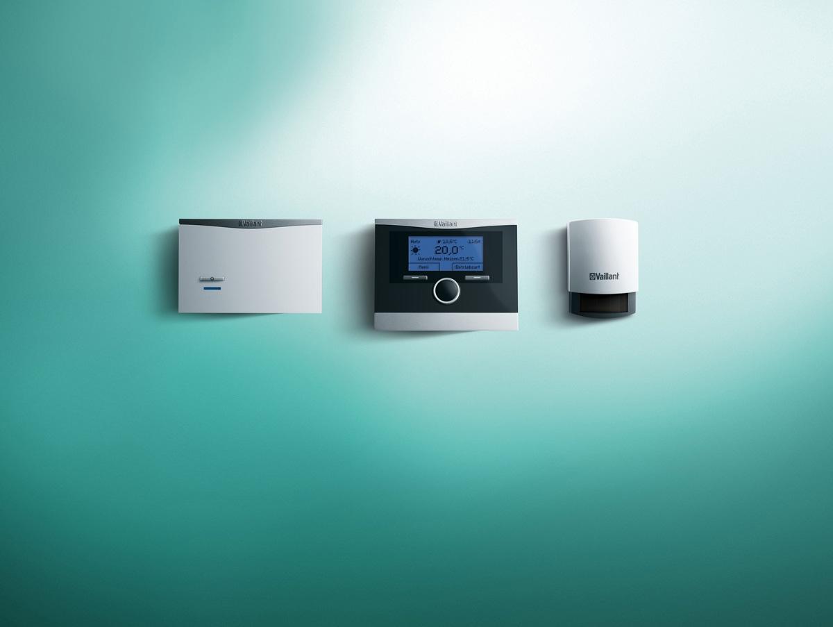 thermostats d 39 ambiance modulants calormatic vrc vaillant. Black Bedroom Furniture Sets. Home Design Ideas