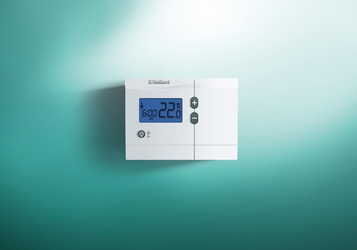 thermostat d 39 ambiance calormatic vrt vaillant. Black Bedroom Furniture Sets. Home Design Ideas