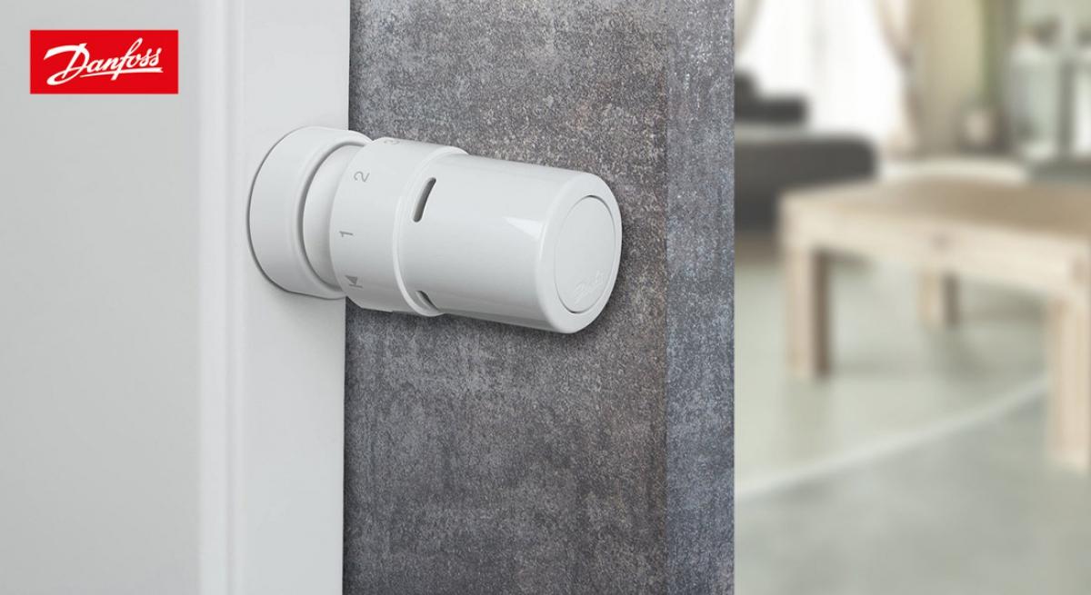 Vannes thermostatiques lectroniques rax k 2 danfoss induscabel salle de bains chauffage - Vanne thermostatique danfoss ...