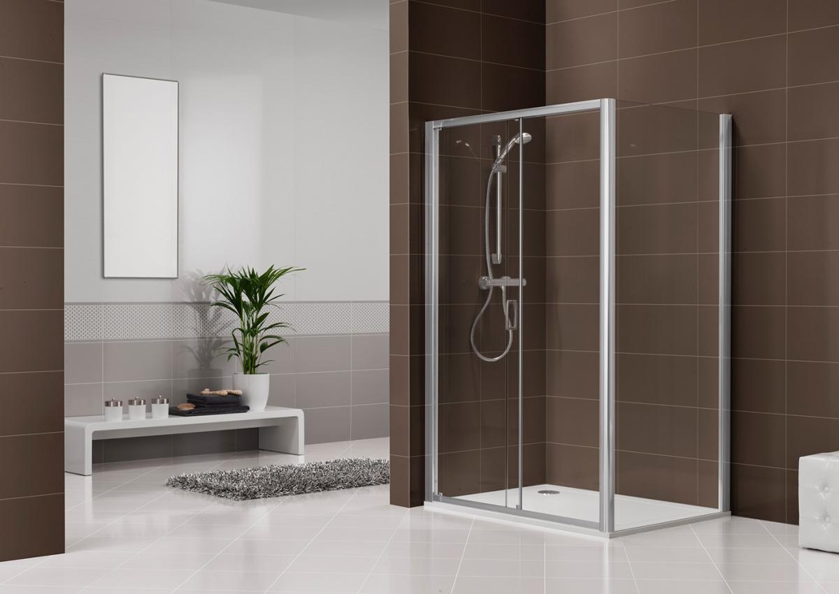 porte et paroi de douche dukessa s 3000 duka induscabel salle de bains chauffage et cuisine. Black Bedroom Furniture Sets. Home Design Ideas