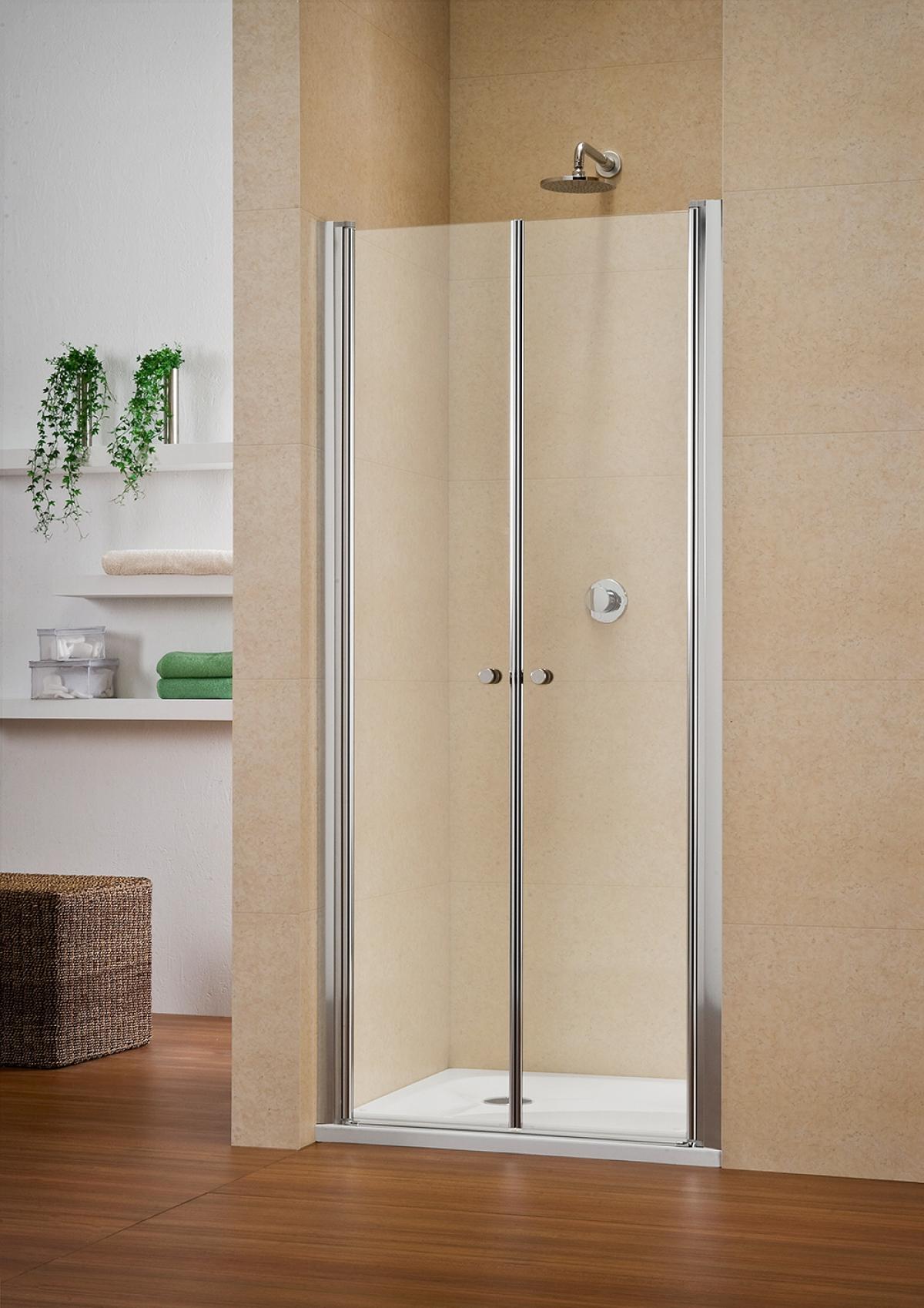porte deux battants de douche multi s 4000 duka induscabel salle de bains chauffage et. Black Bedroom Furniture Sets. Home Design Ideas