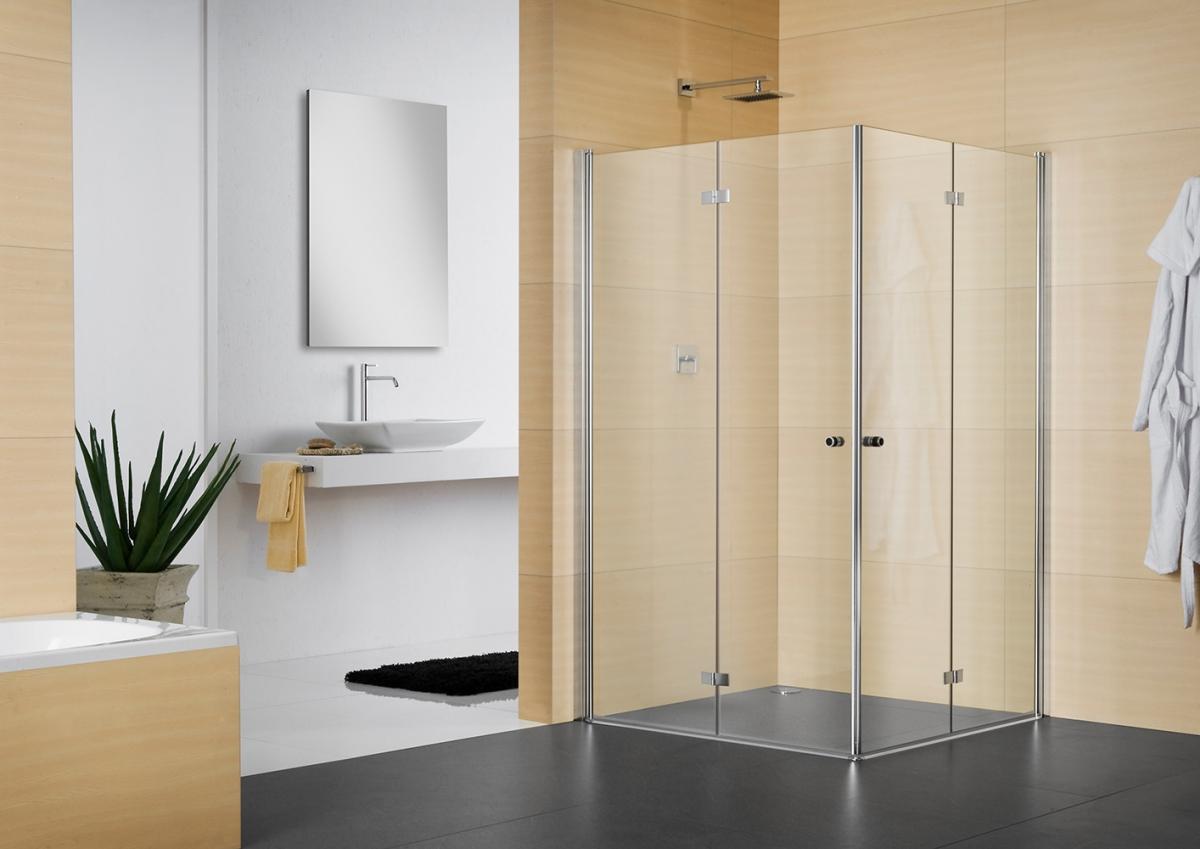 Porte pliante battante de douche Multi S 4000 - DUKA
