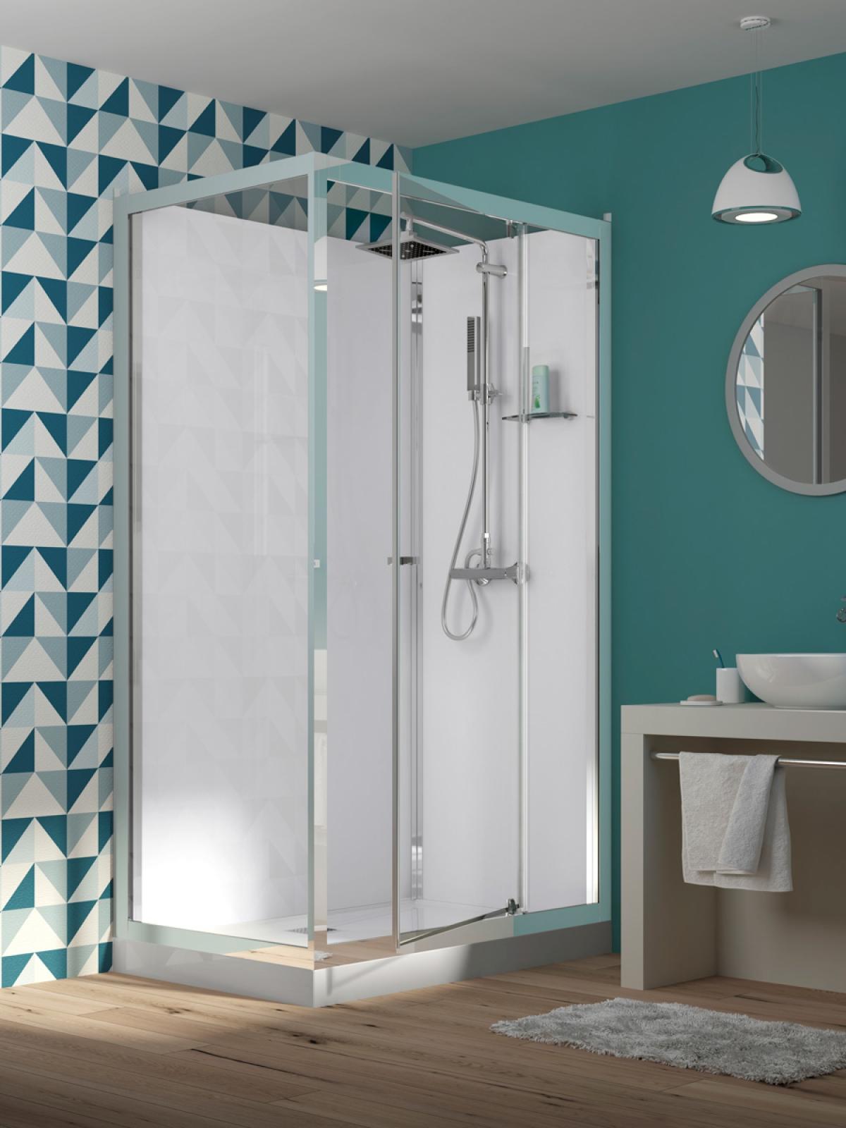 cabine de douche eden kinedo induscabel salle de bains chauffage et cuisine. Black Bedroom Furniture Sets. Home Design Ideas