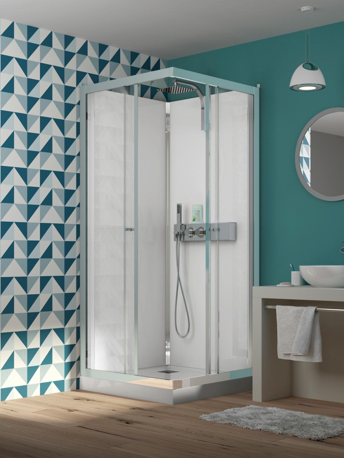 cabine de douche eden kinedo induscabel salle de. Black Bedroom Furniture Sets. Home Design Ideas