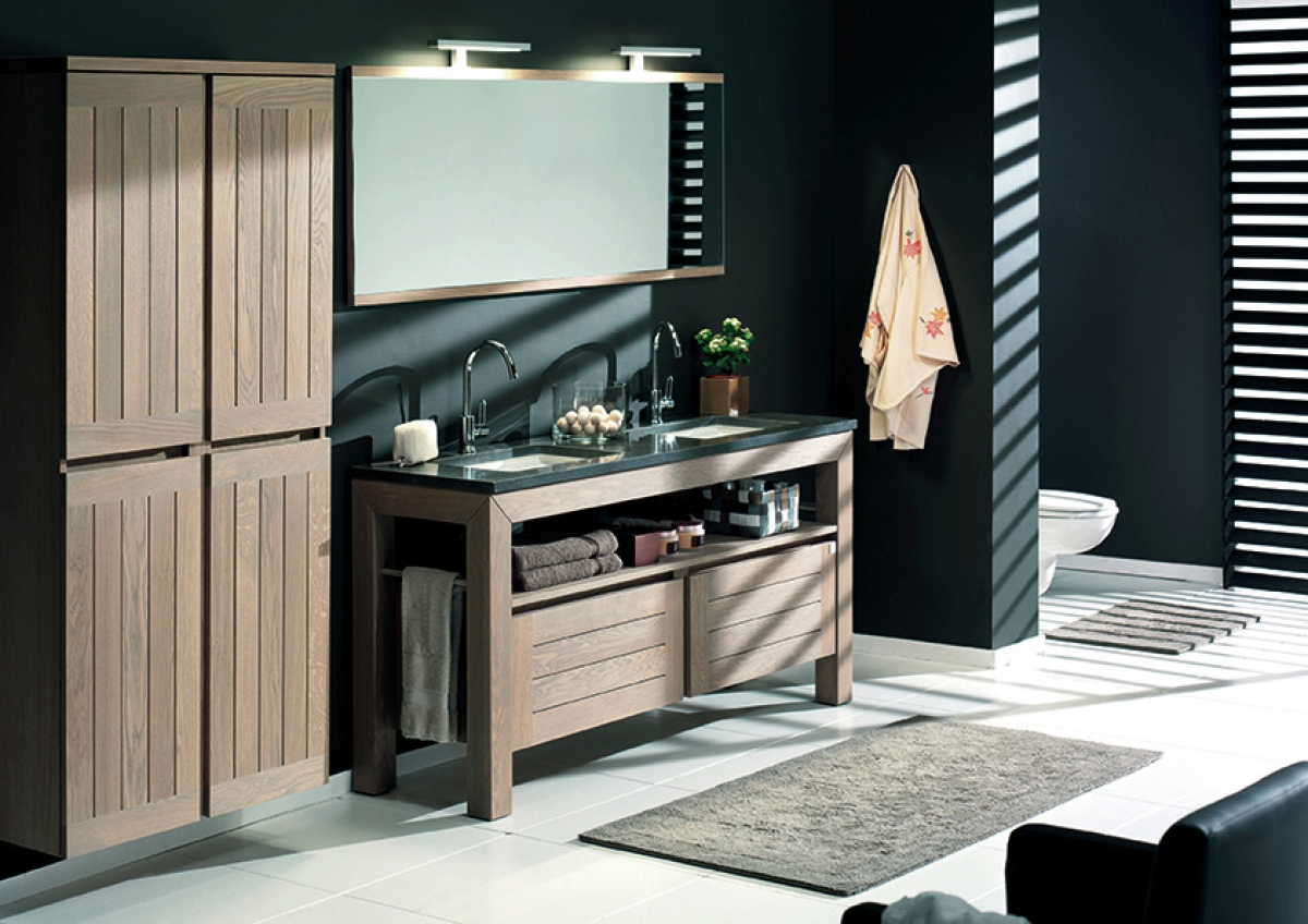 Meubles et table vasque Terra - F&F