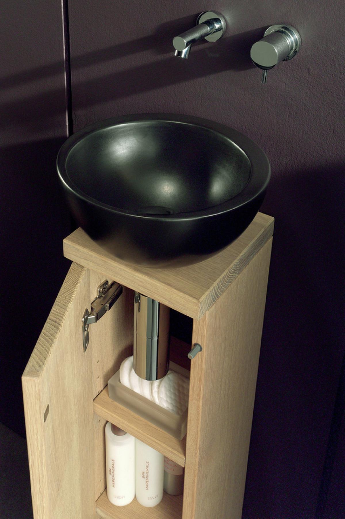 ensemble lave mains et miroir totem f f induscabel salle de bains chauffage et cuisine. Black Bedroom Furniture Sets. Home Design Ideas