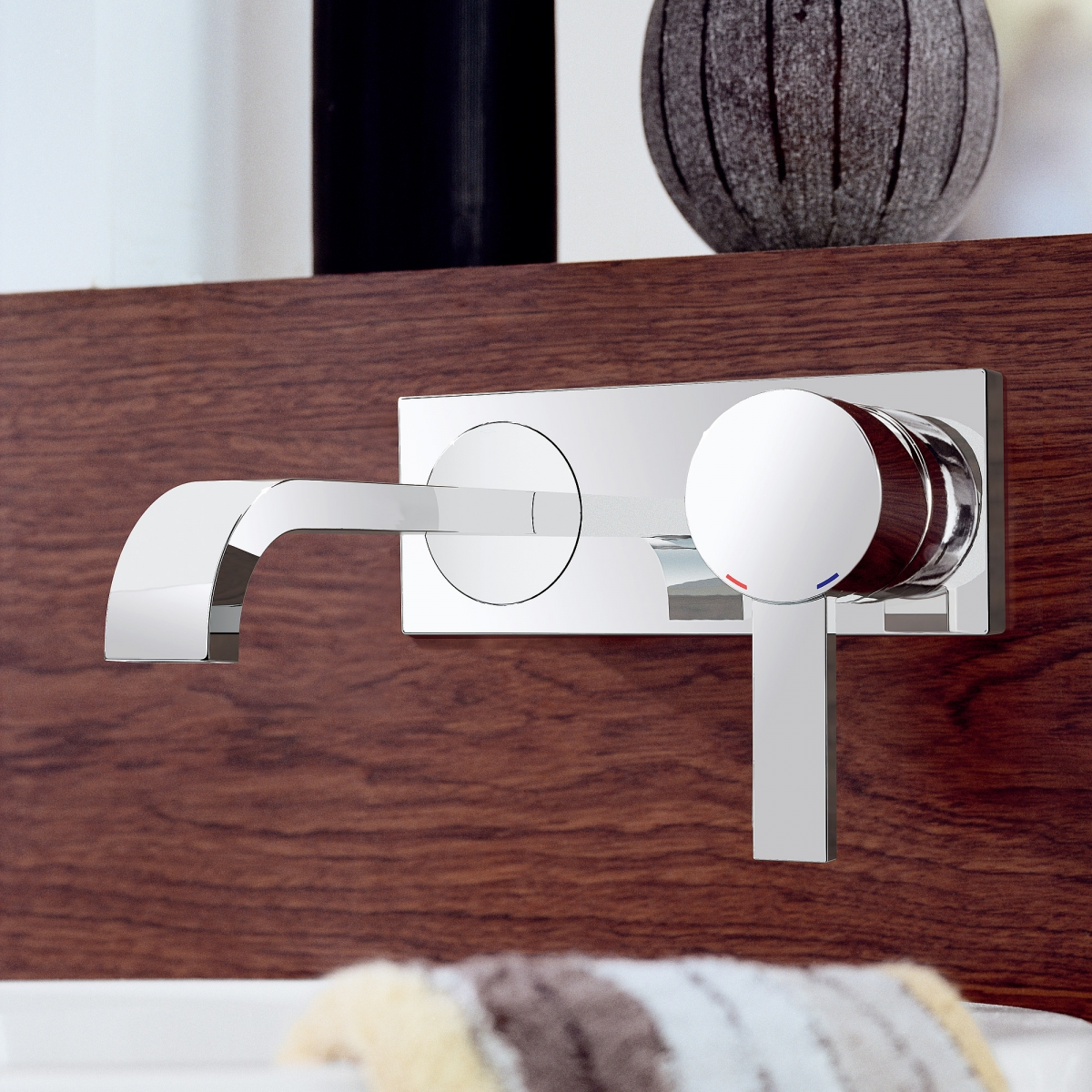 mitigeur lavabo mural allure grohe induscabel salle de bains chauffage et cuisine. Black Bedroom Furniture Sets. Home Design Ideas