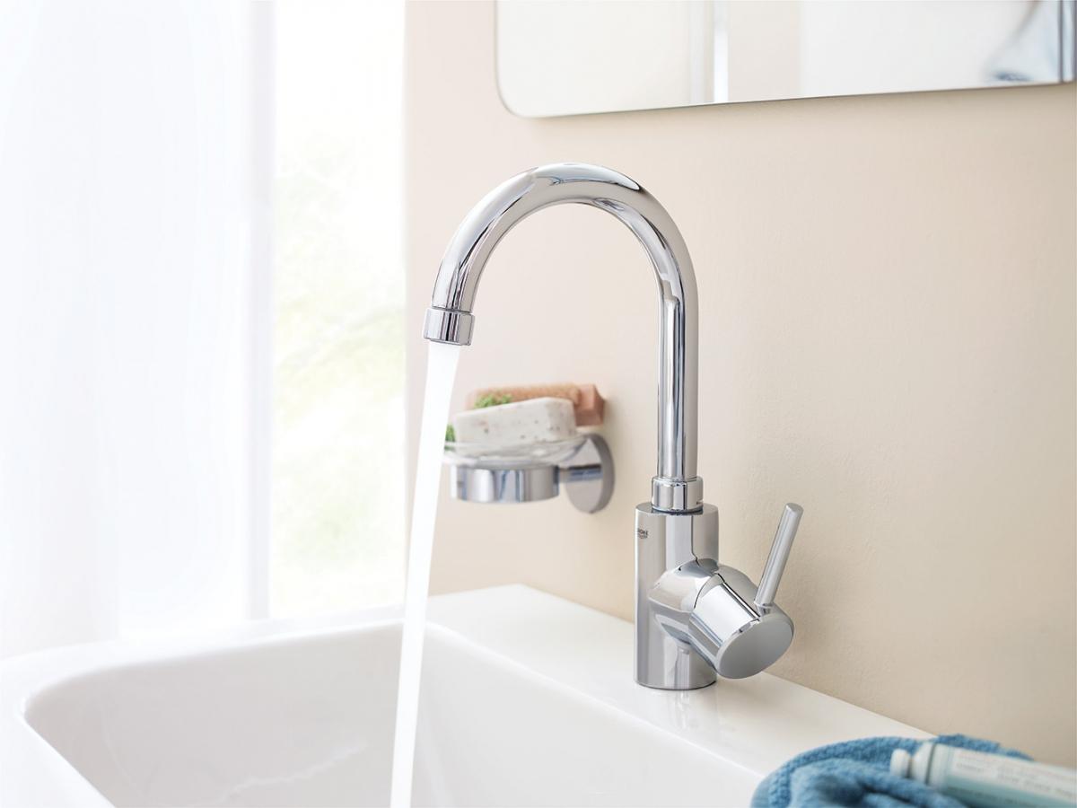 mitigeur lavabo concetto grohe induscabel salle de bains chauffage et cuisine. Black Bedroom Furniture Sets. Home Design Ideas