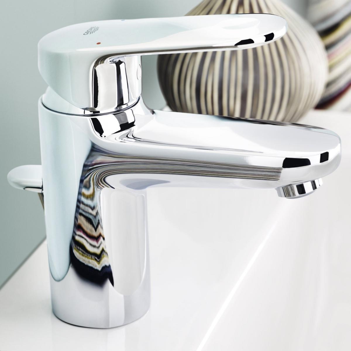 mitigeur lavabo europlus grohe induscabel salle de bains chauffage et cuisine. Black Bedroom Furniture Sets. Home Design Ideas