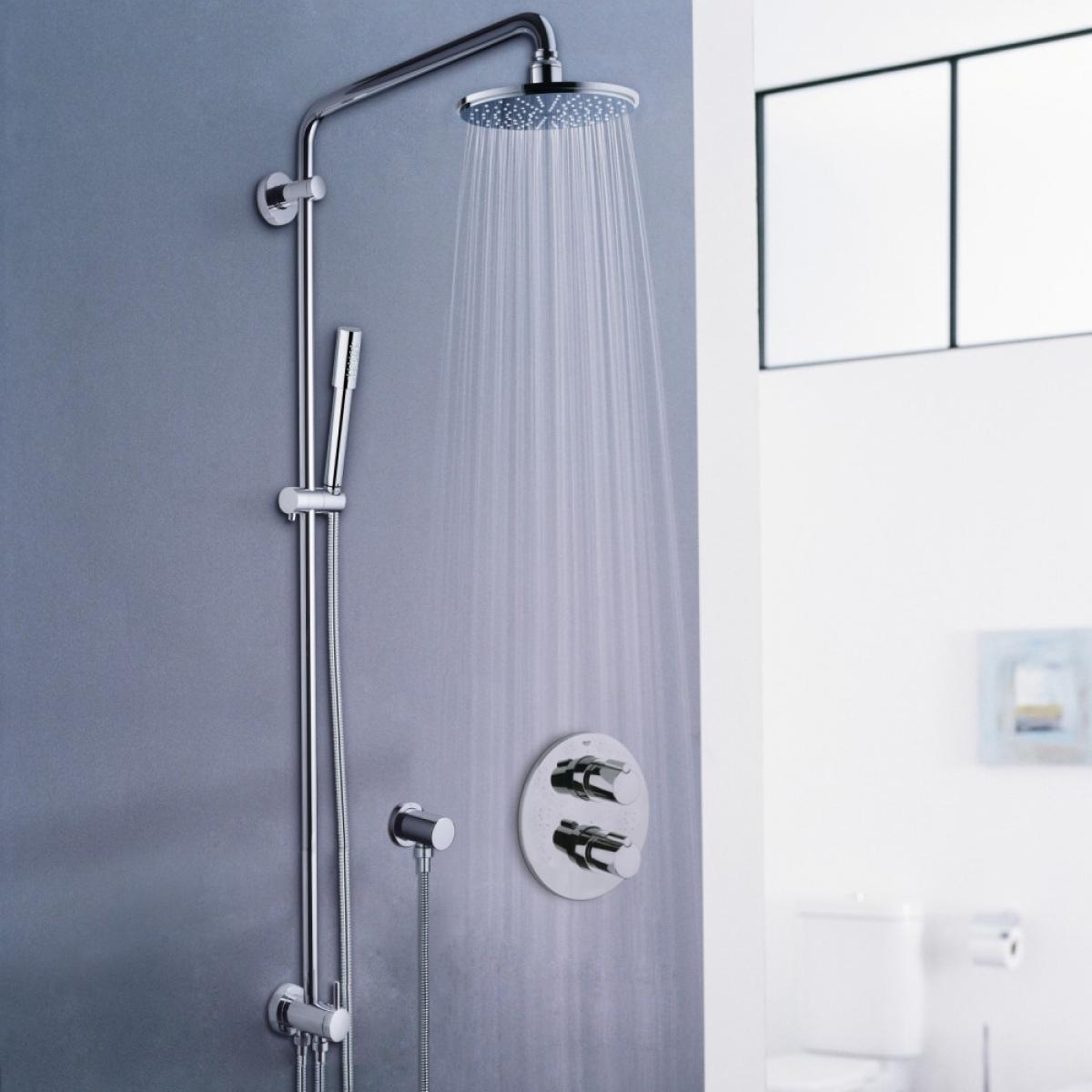 Robinetterie de douche rainshower sena grohe induscabel salle de bains chauffage et cuisine - Robinetterie grohe douche ...