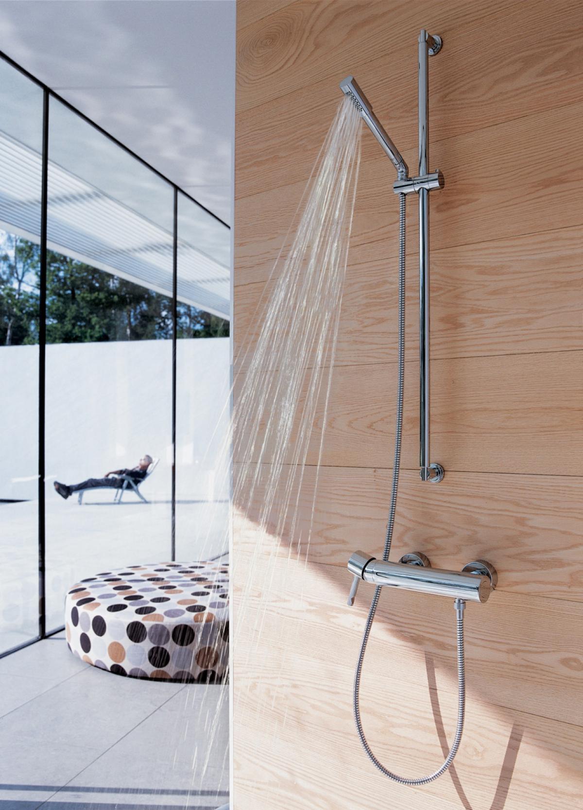 Robinetterie de douche senastick grohe induscabel salle de bains chauffage et cuisine - Robinetterie grohe douche ...