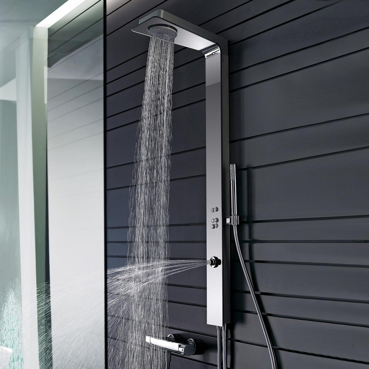 robinetterie de douche smartshower hansa induscabel salle de bains chauffage et cuisine. Black Bedroom Furniture Sets. Home Design Ideas