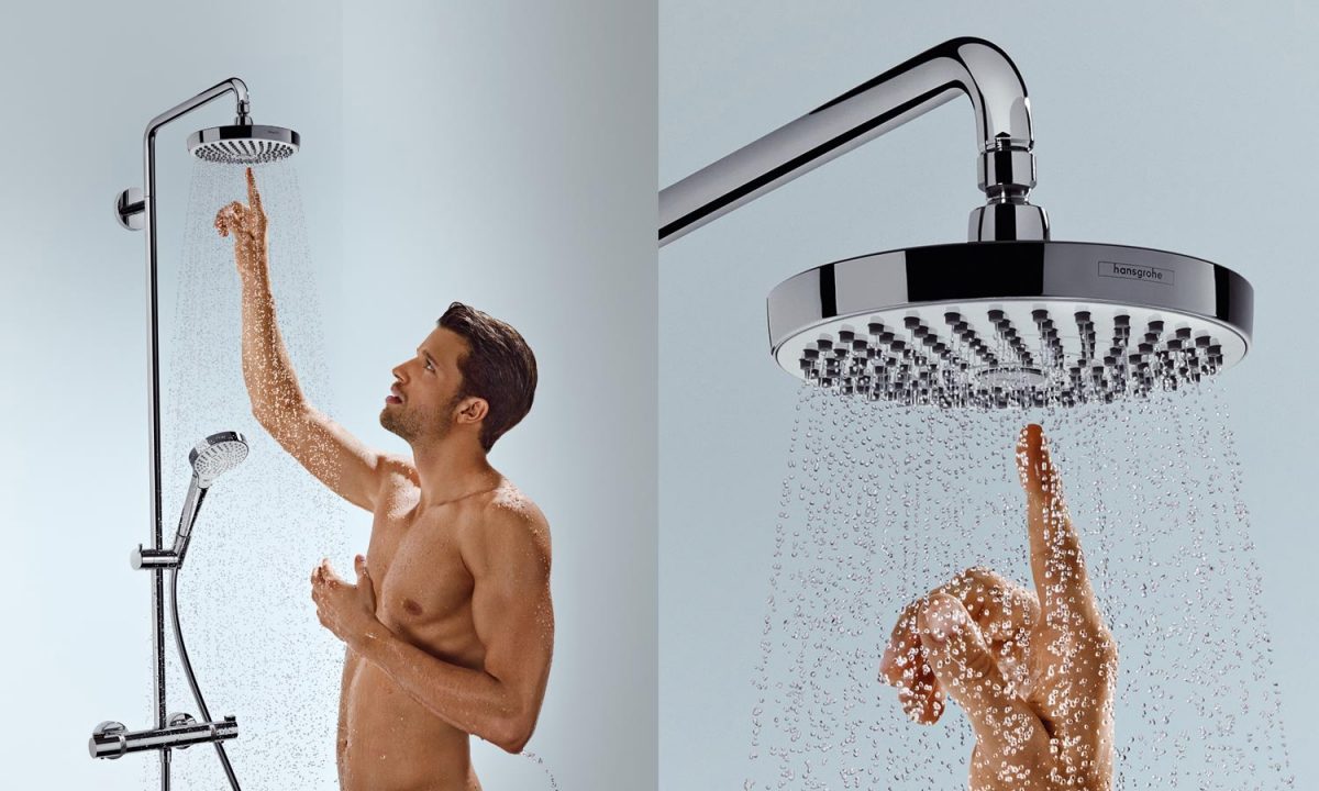 Robinetterie de douche Croma Select - HANSGROHE