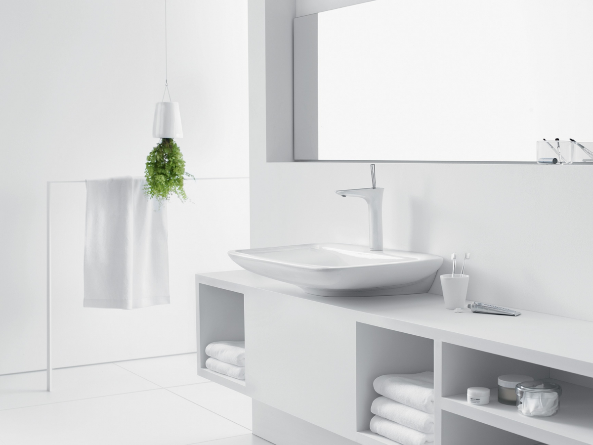 mitigeur lavabo puravida hansgrohe induscabel salle de bains chauffage et cuisine. Black Bedroom Furniture Sets. Home Design Ideas