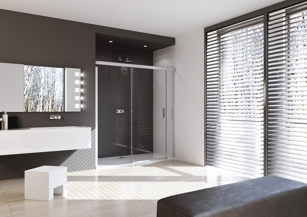 porte coulissante de douche design elegance pure huppe. Black Bedroom Furniture Sets. Home Design Ideas
