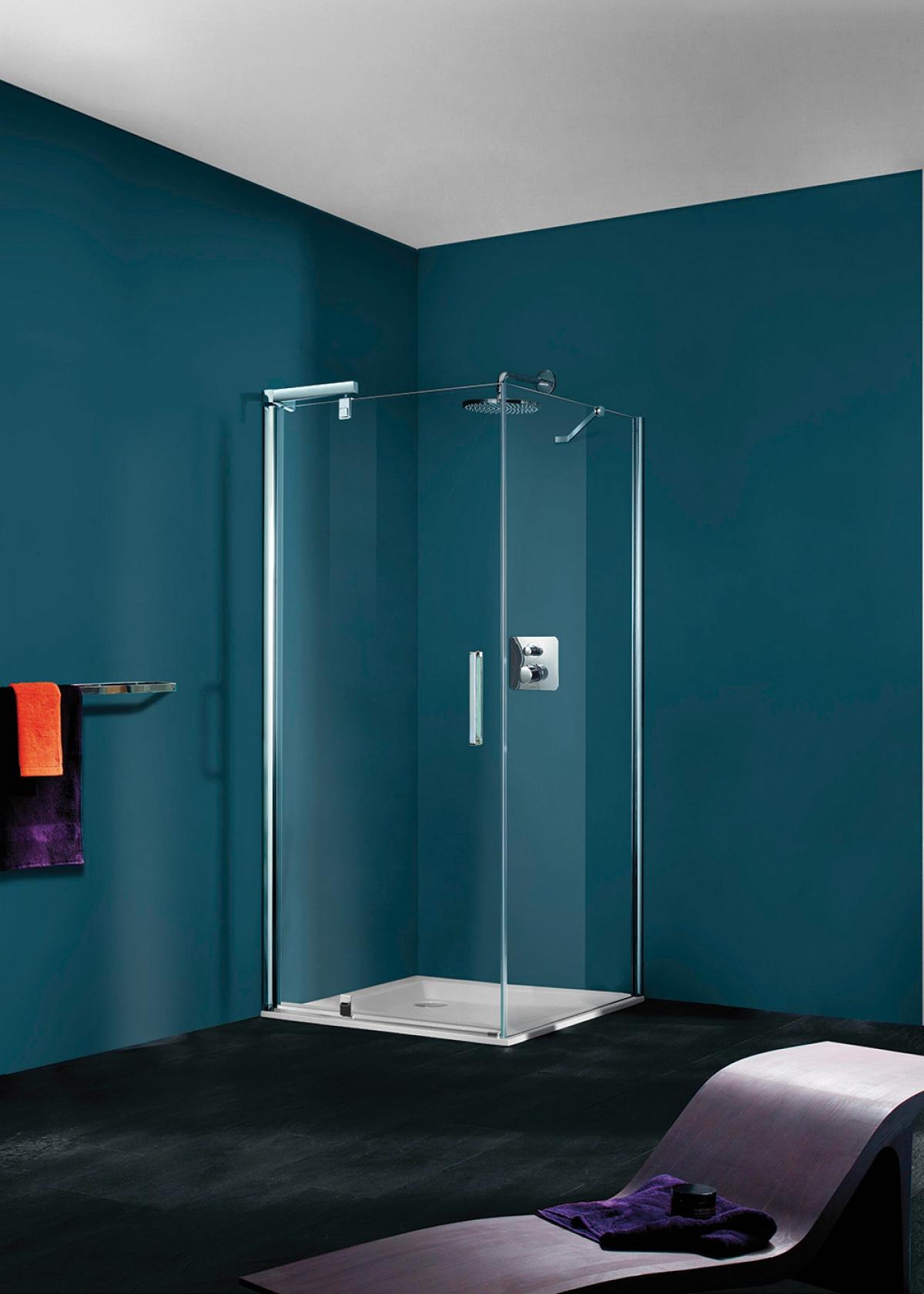 porte et paroi de douche refresh pure huppe induscabel salle de bains chauffage et cuisine. Black Bedroom Furniture Sets. Home Design Ideas