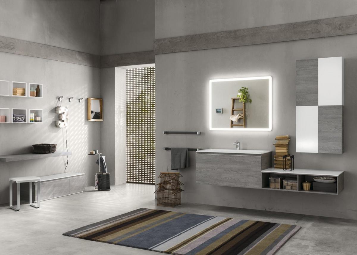 Meubles et table vasque perfetto inda induscabel for Inda salle de bain