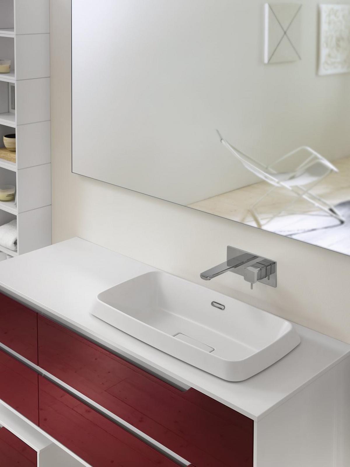 Meubles et table vasque prestige inda induscabel for Inda salle de bain