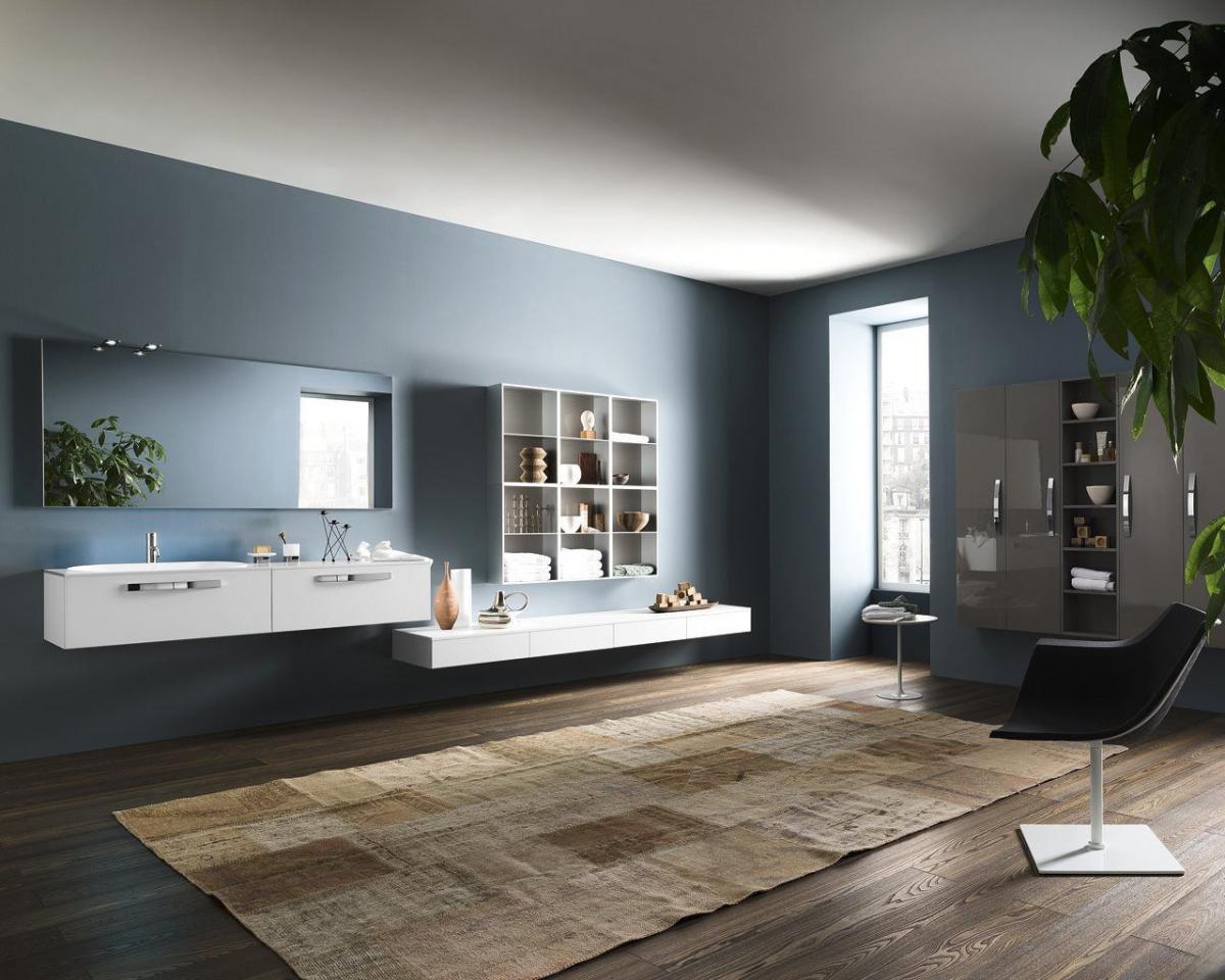 Meubles et table vasque Progetto - INDA