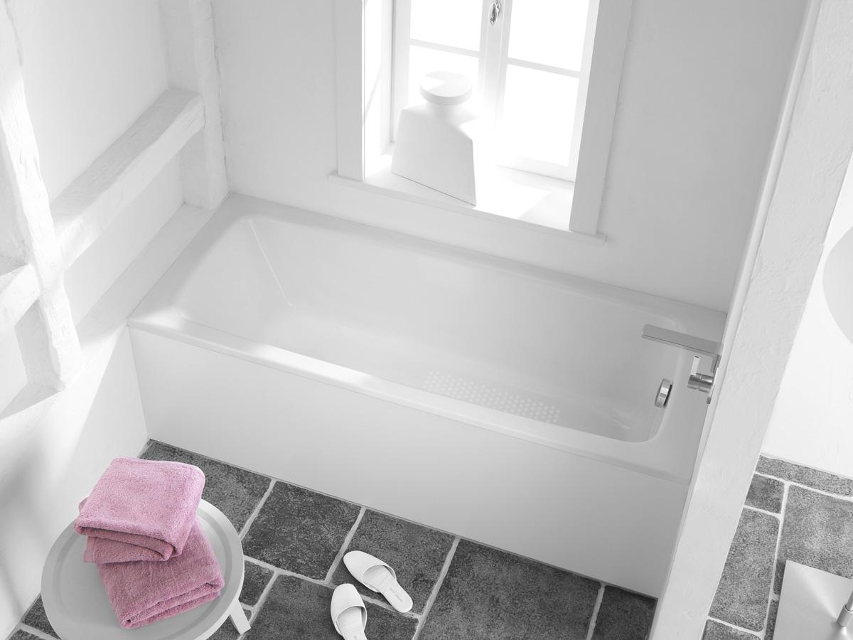 baignoire encastr e cayono kaldewei induscabel salle de bains chauffage et cuisine. Black Bedroom Furniture Sets. Home Design Ideas