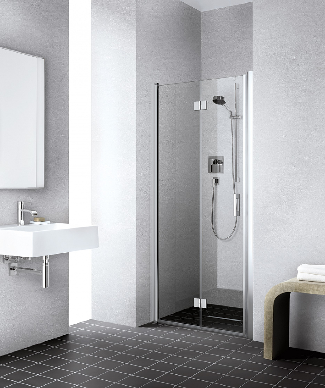 Porte battante de douche liga kermi induscabel salle - Porte battante de douche ...