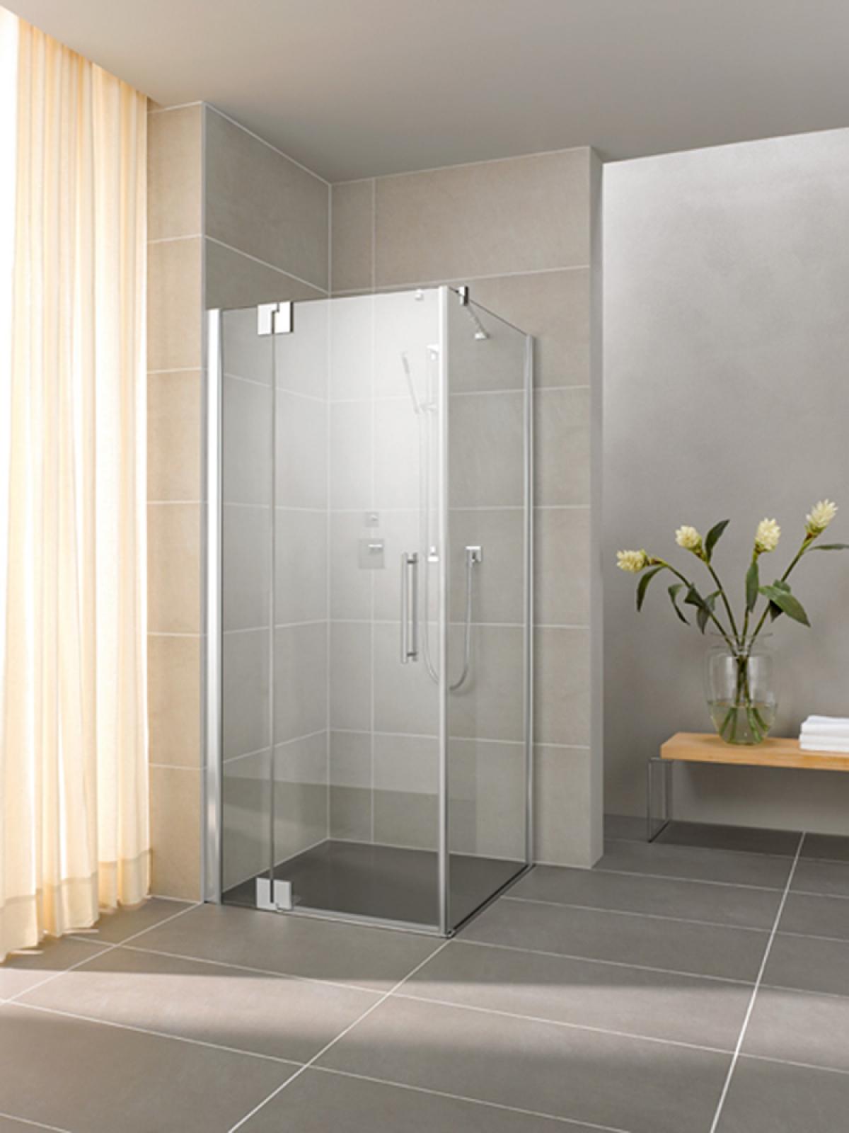 porte et paroi de douche pasa xp kermi induscabel salle de bains chauffage et cuisine. Black Bedroom Furniture Sets. Home Design Ideas