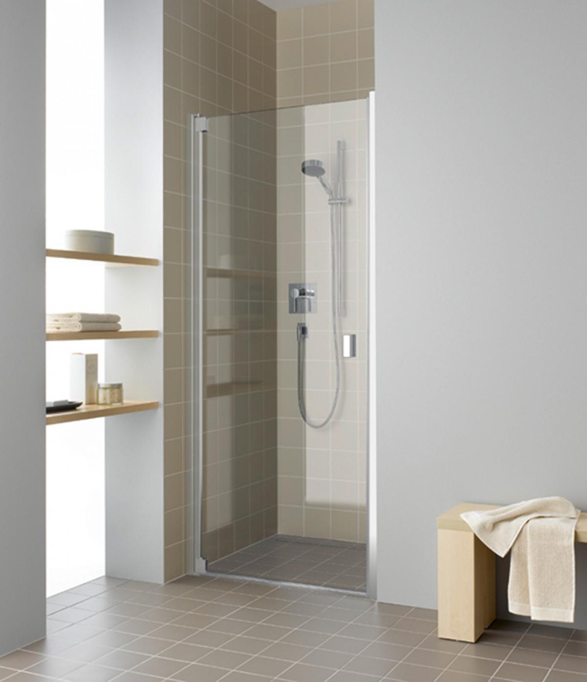 porte battante de douche raya kermi induscabel salle de bains chauffage et cuisine. Black Bedroom Furniture Sets. Home Design Ideas