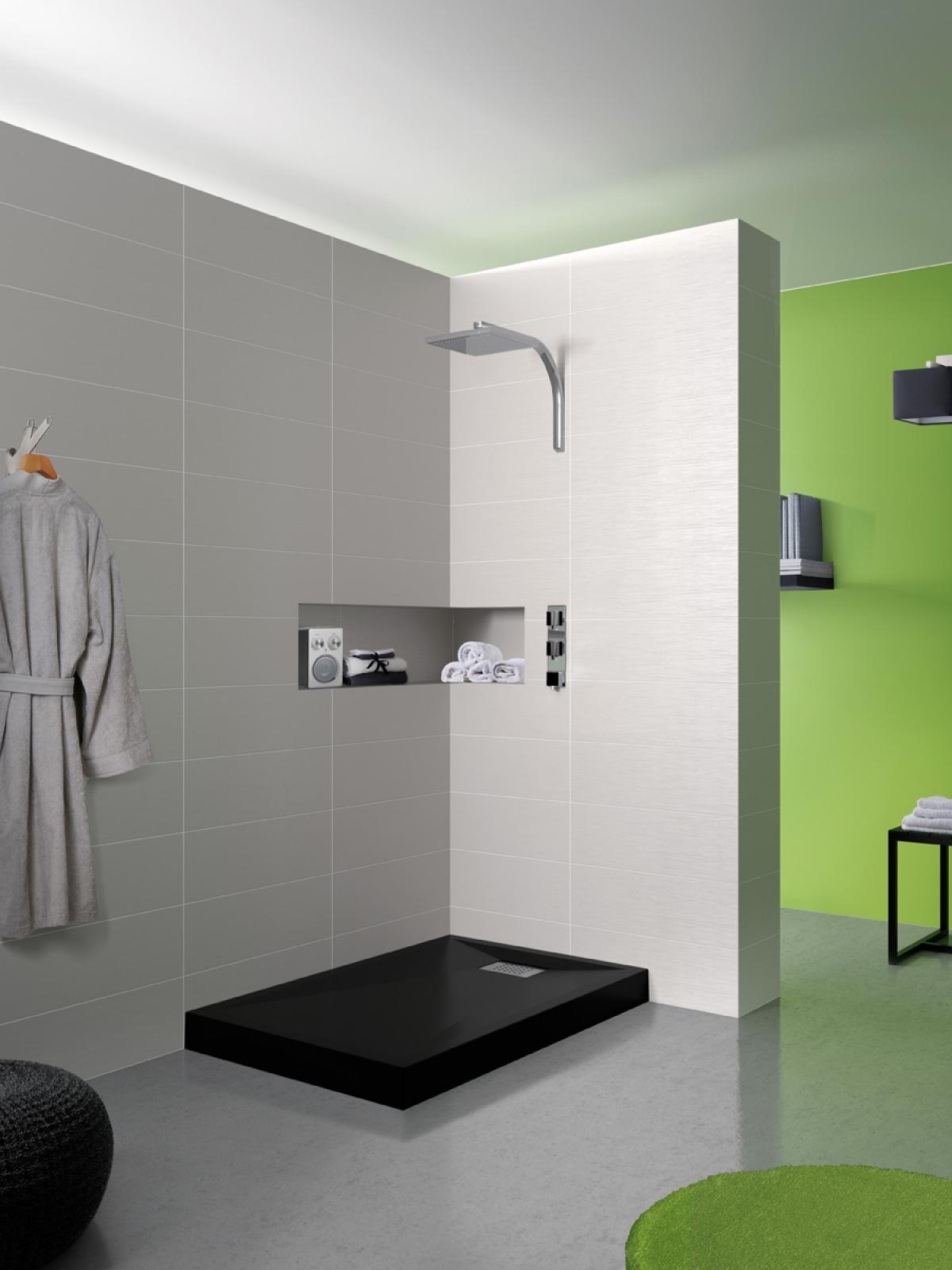 Receveur de douche color kinesurf kinedo induscabel salle de bains chauffage et cuisine - Receveur de douche kinesurf ...